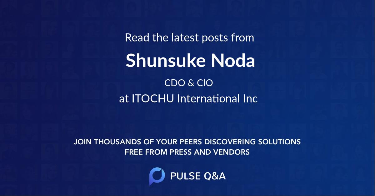 Shunsuke Noda