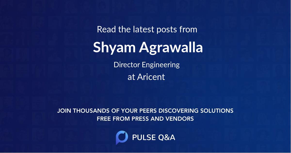 Shyam Agrawalla