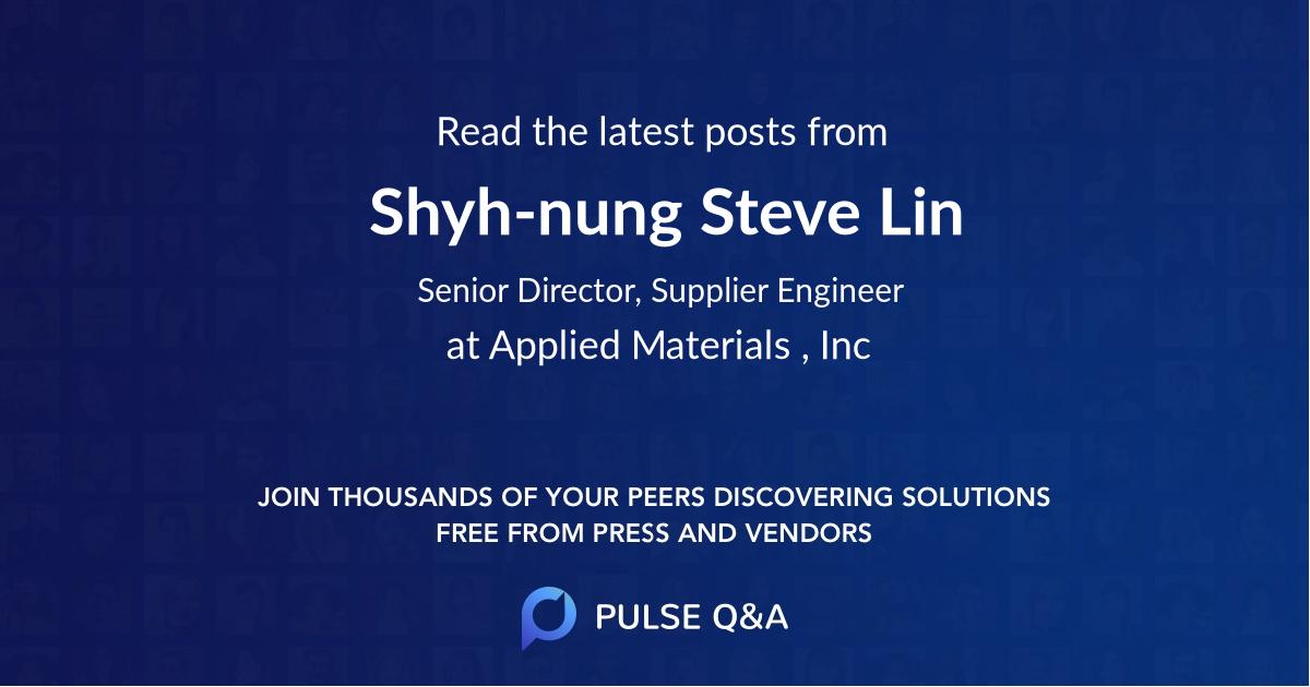 Shyh-nung Steve Lin