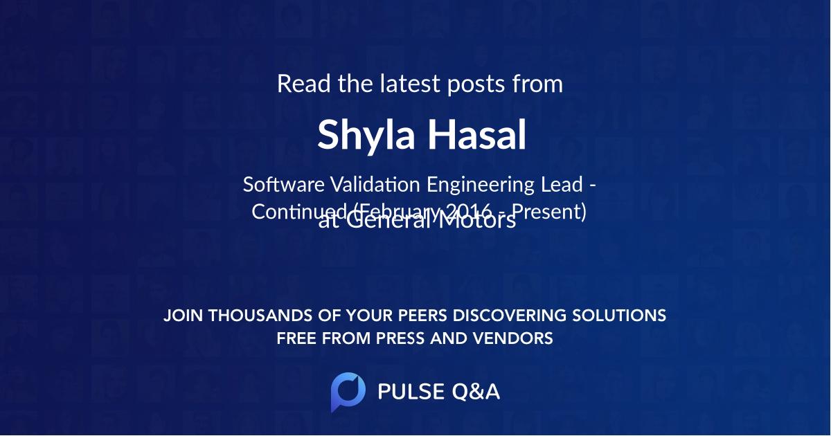 Shyla Hasal