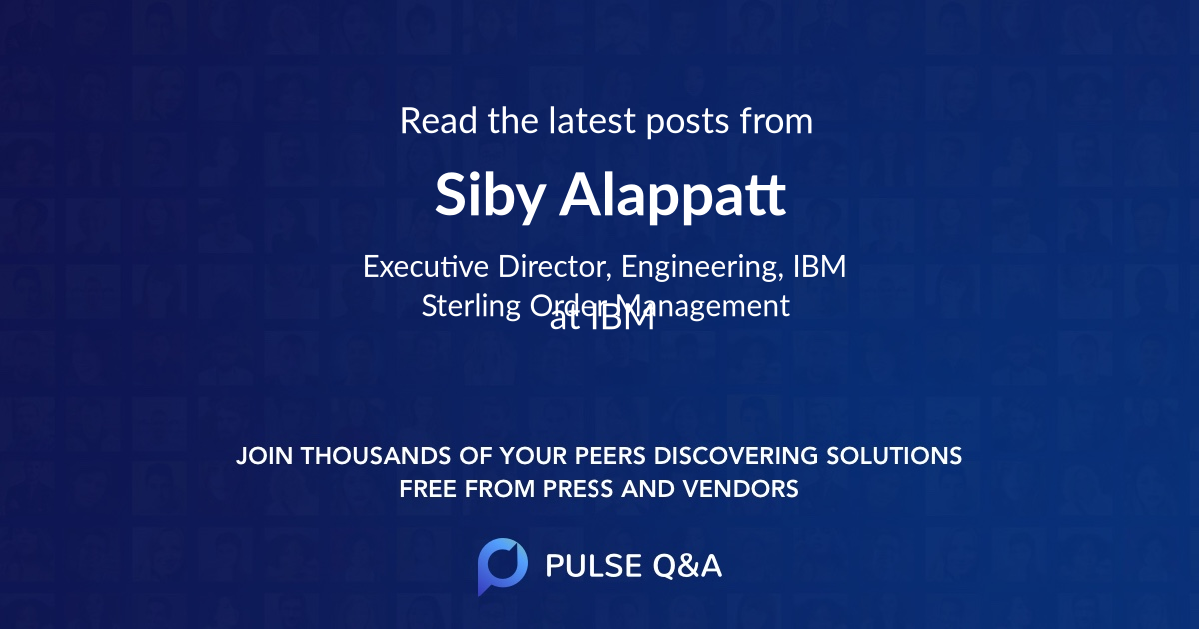 Siby Alappatt