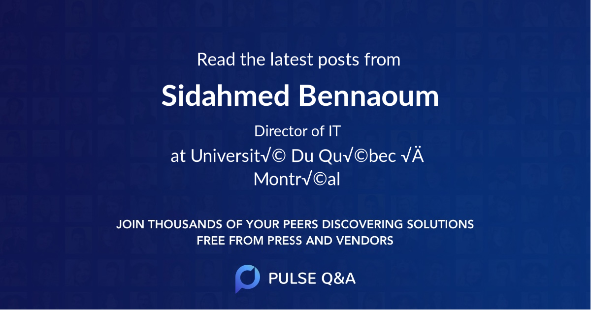 Sidahmed Bennaoum