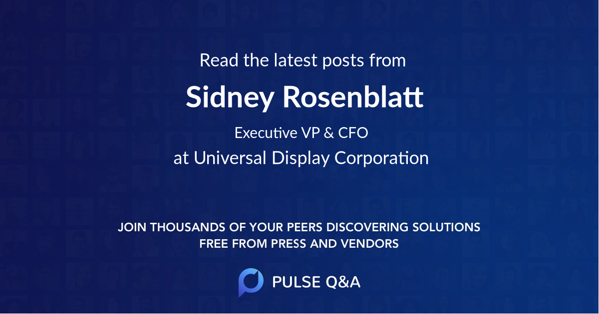 Sidney Rosenblatt