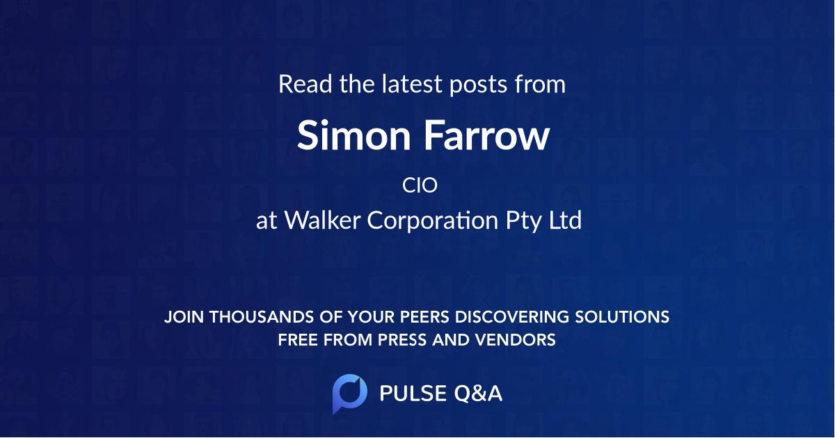 Simon Farrow