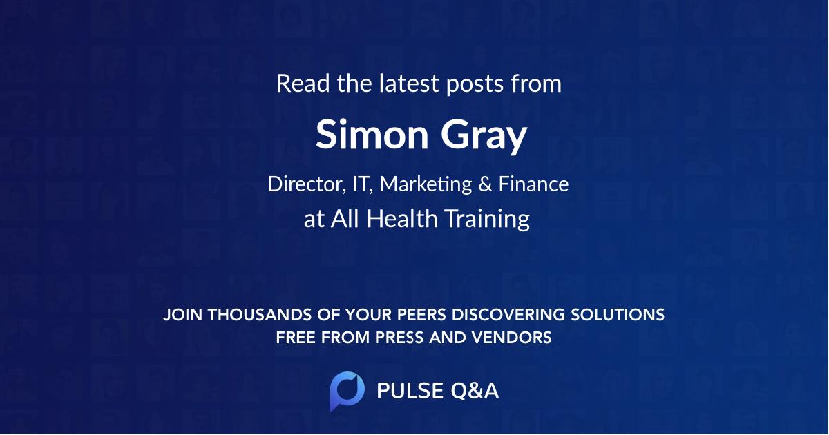 Simon Gray