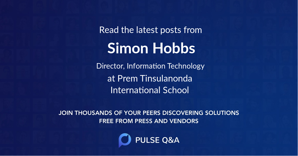 Simon Hobbs