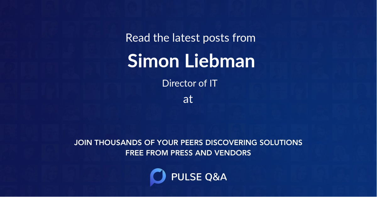 Simon Liebman