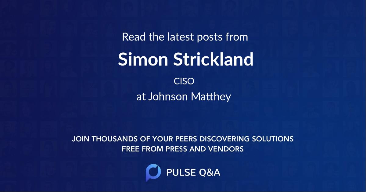 Simon Strickland