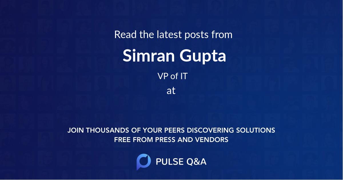 Simran Gupta
