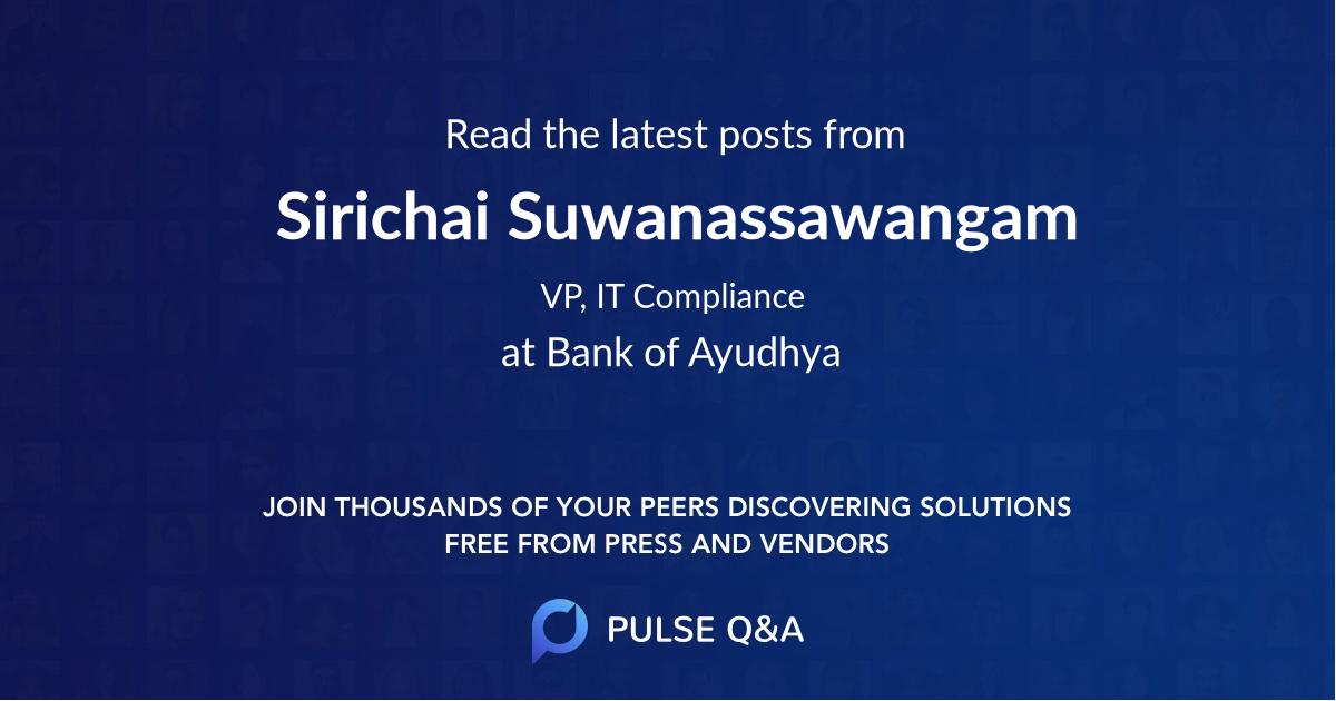 Sirichai Suwanassawangam