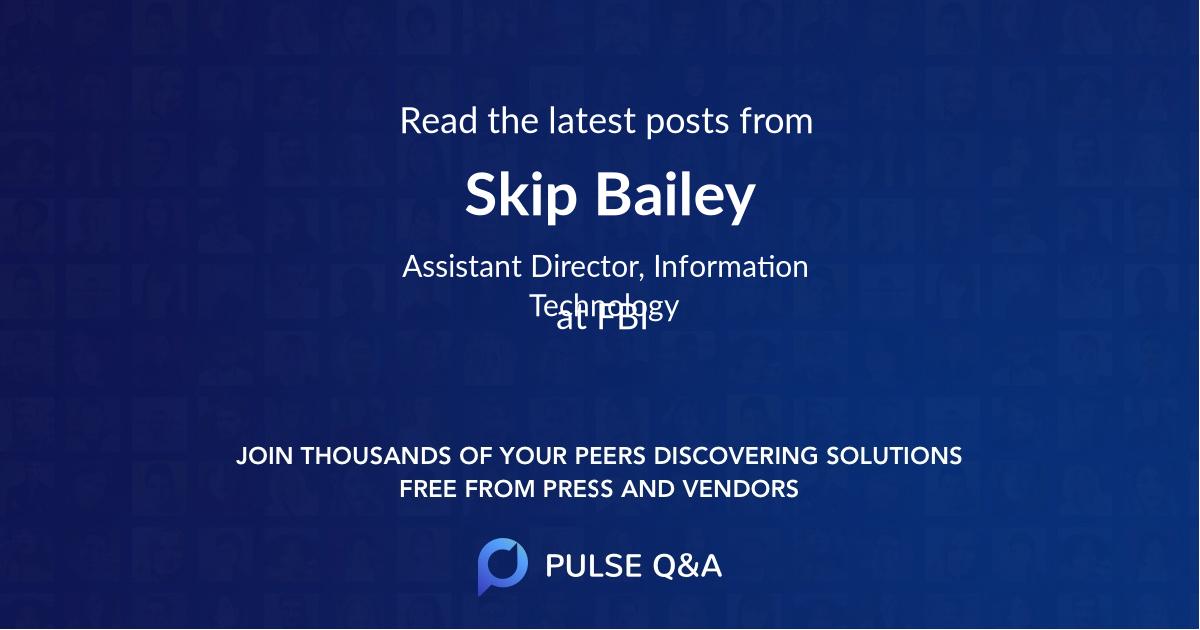 Skip Bailey