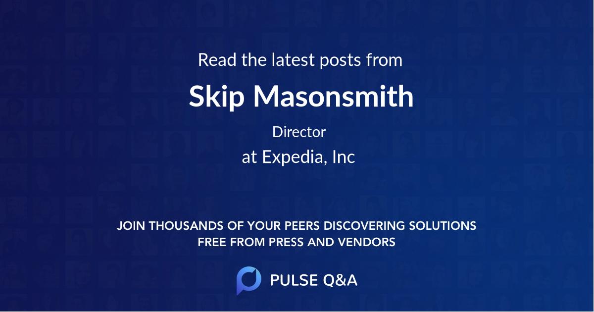 Skip Masonsmith