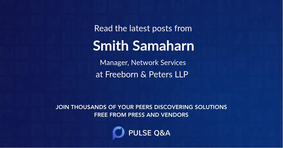 Smith Samaharn