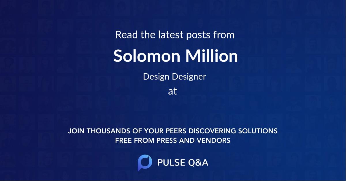 Solomon Million