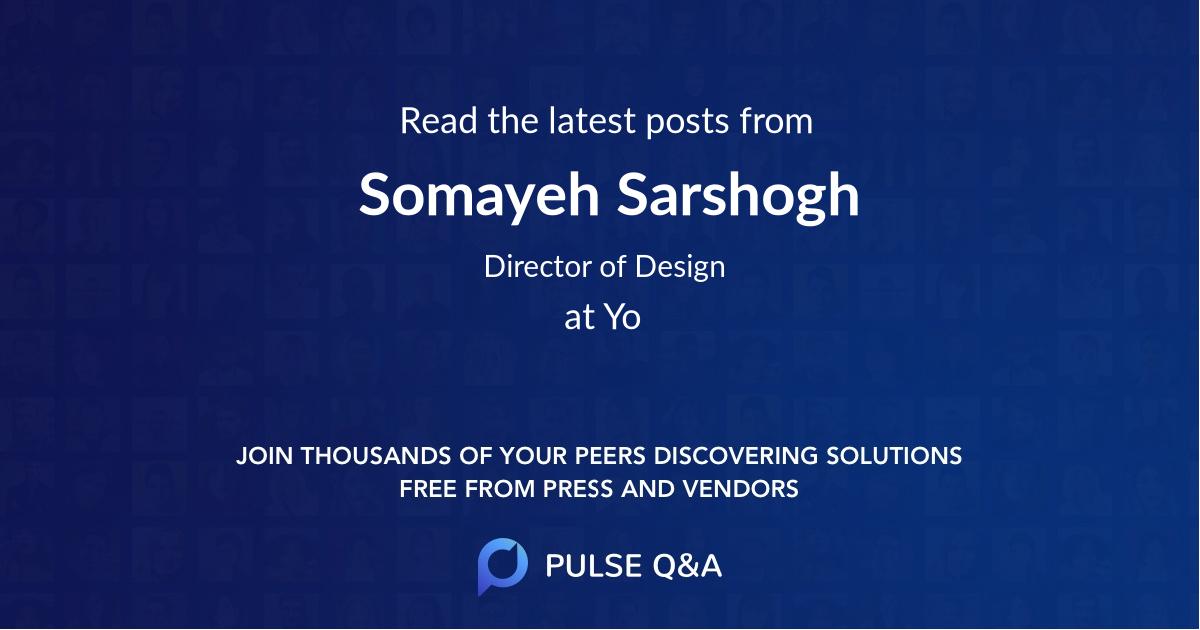 Somayeh Sarshogh