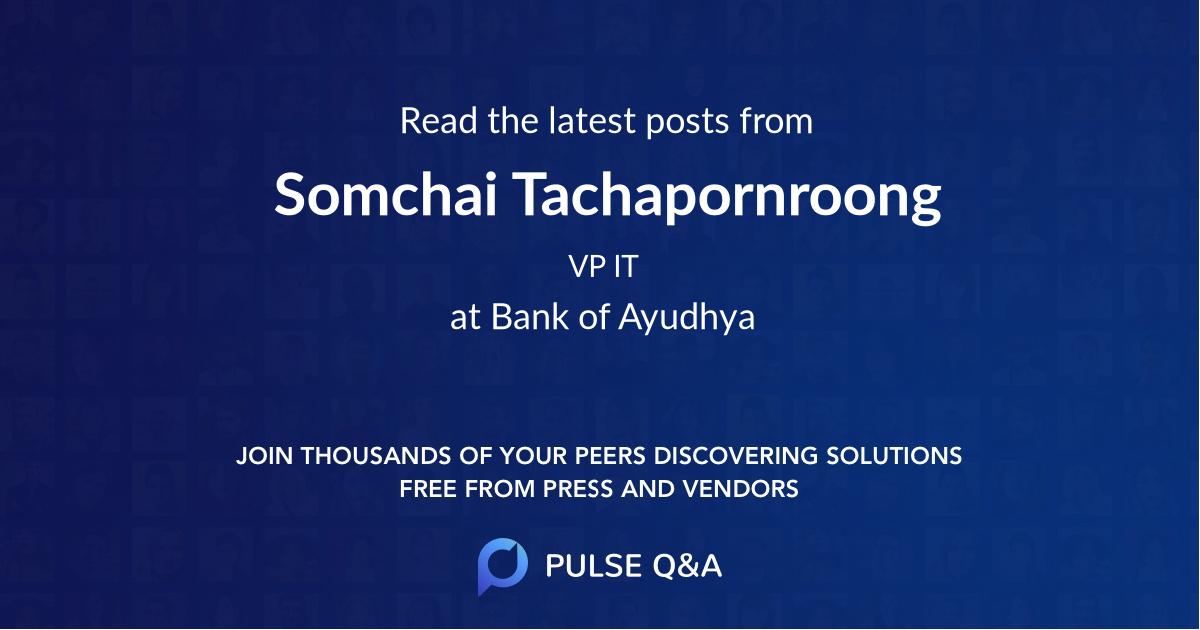 Somchai Tachapornroong