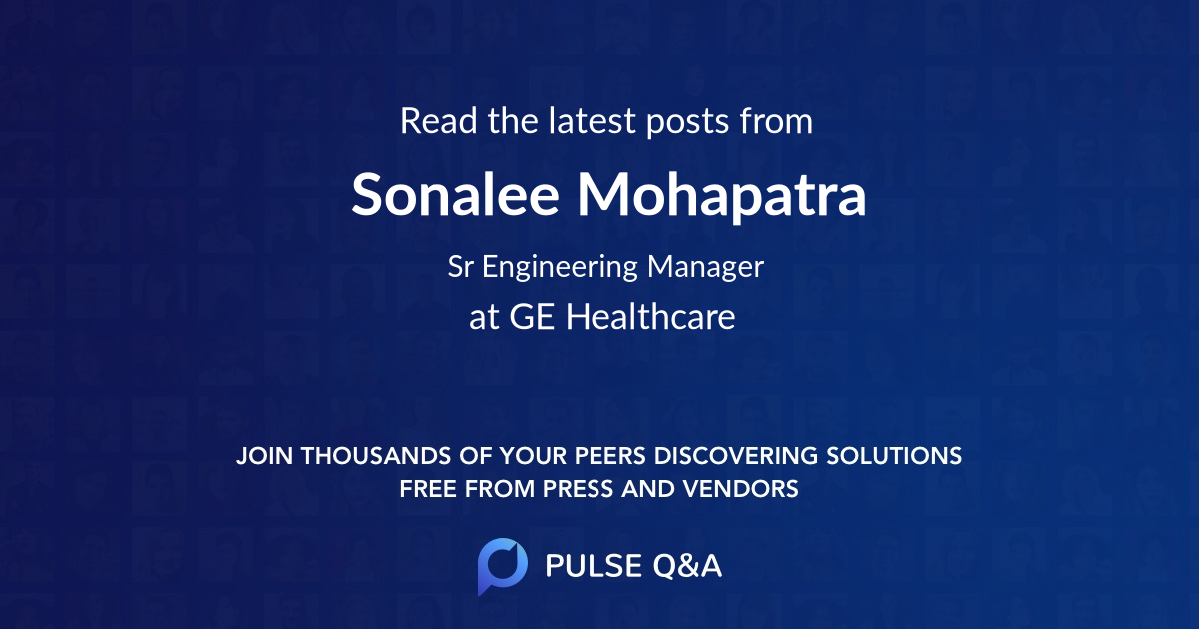 Sonalee Mohapatra