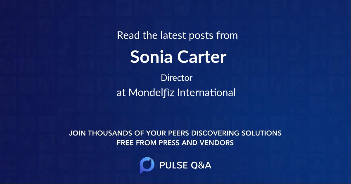 Sonia Carter
