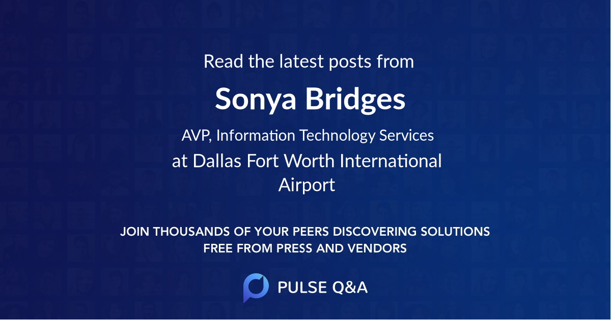 Sonya Bridges