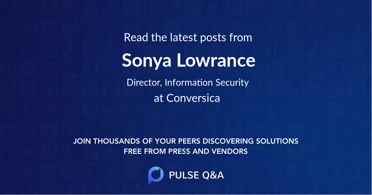 Sonya Lowrance