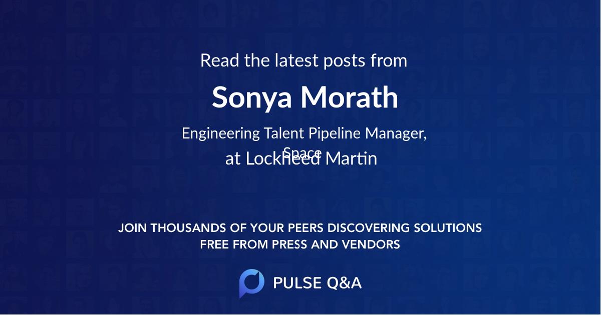 Sonya Morath