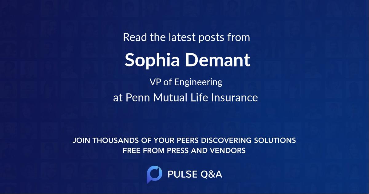 Sophia Demant