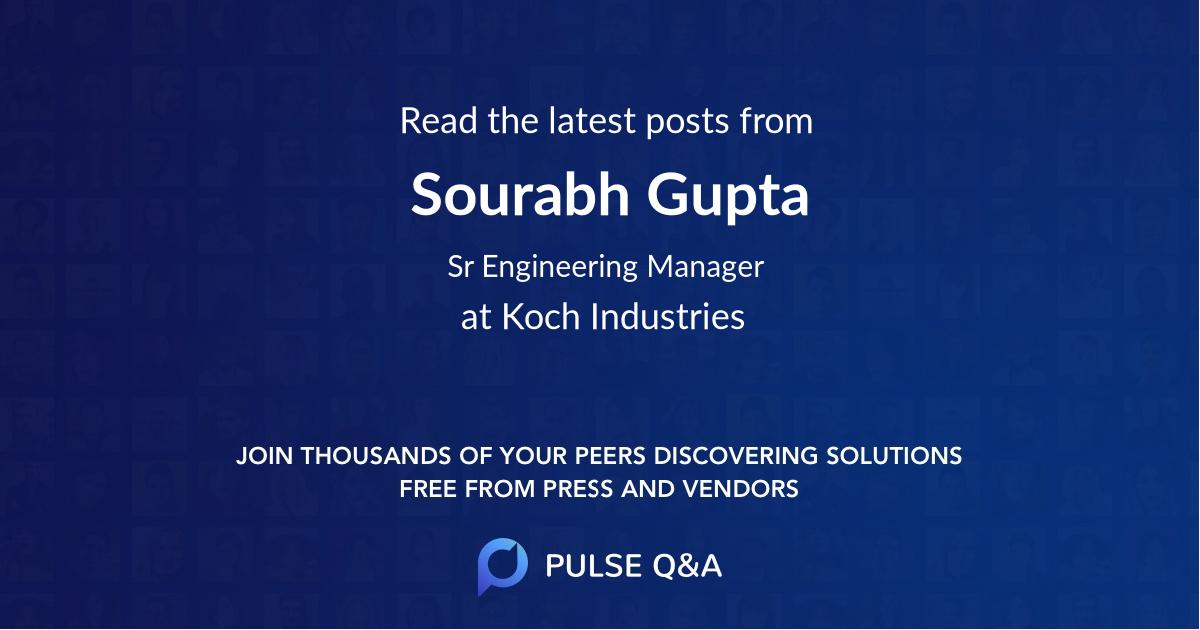 Sourabh Gupta