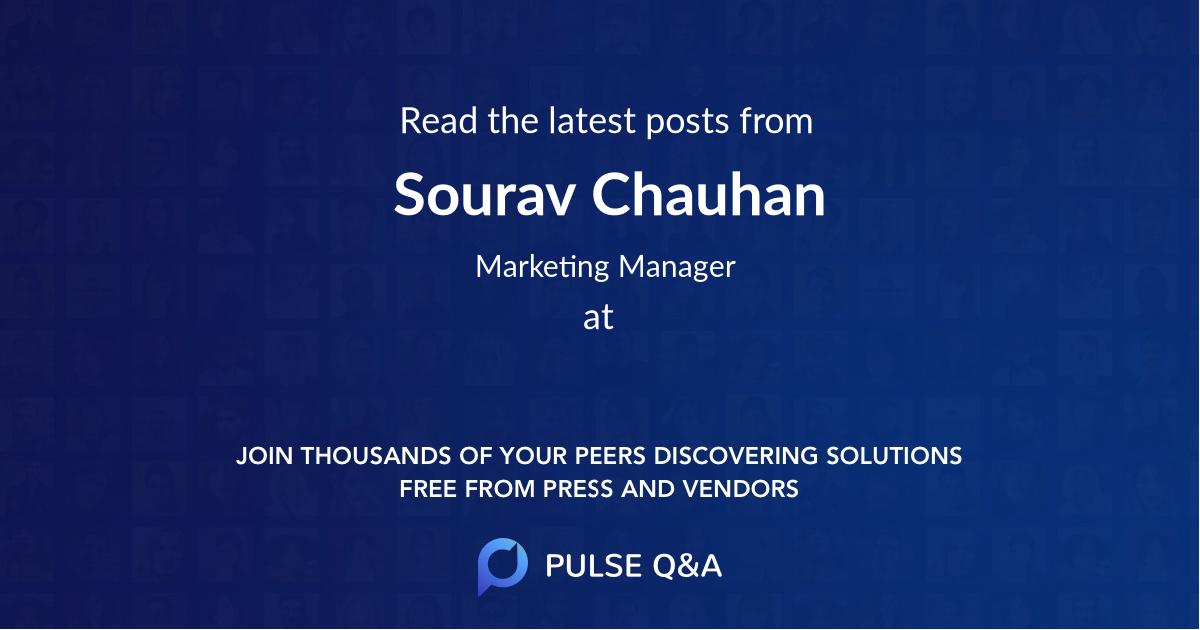 Sourav Chauhan