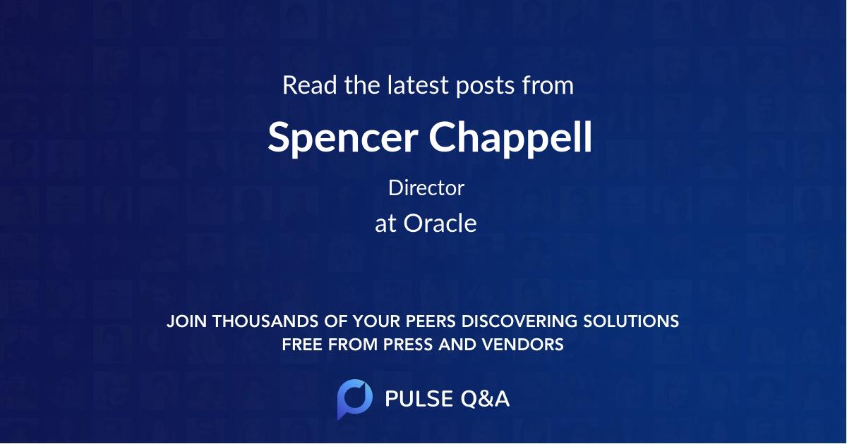 Spencer Chappell