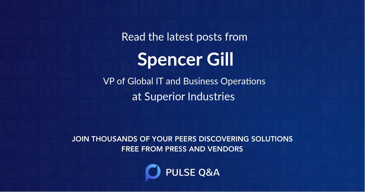 Spencer Gill