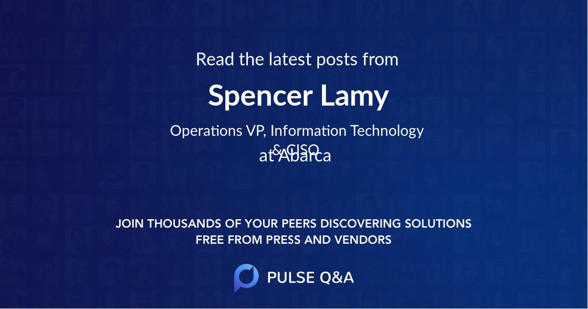 Spencer Lamy