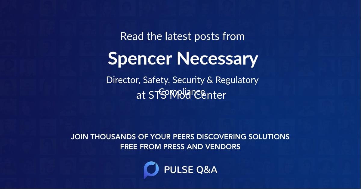 Spencer Necessary