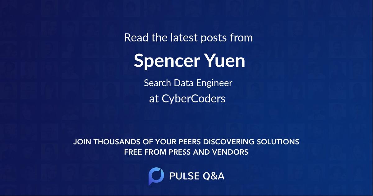 Spencer Yuen
