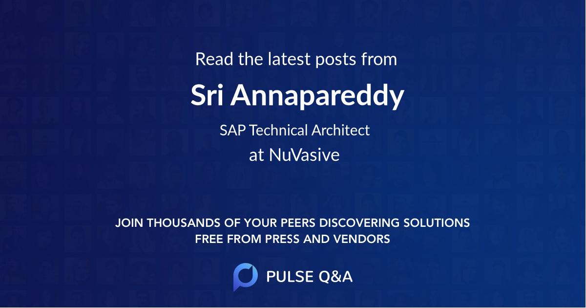 Sri Annapareddy