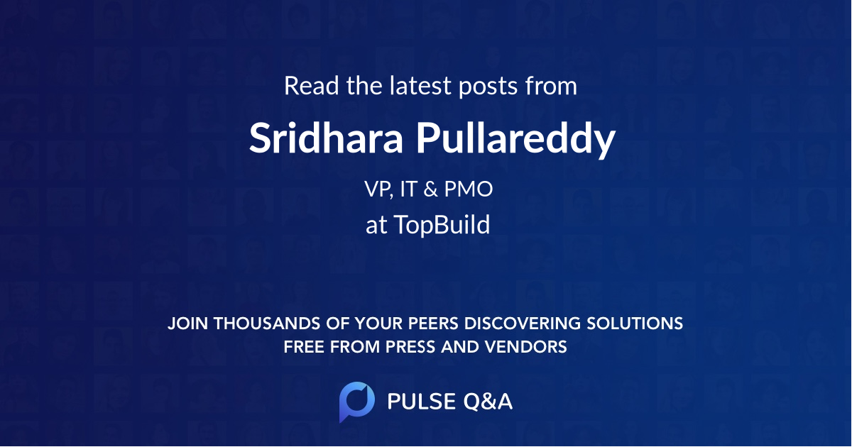 Sridhara Pullareddy