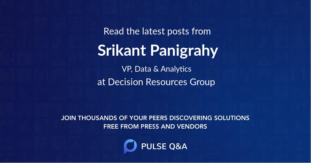 Srikant Panigrahy
