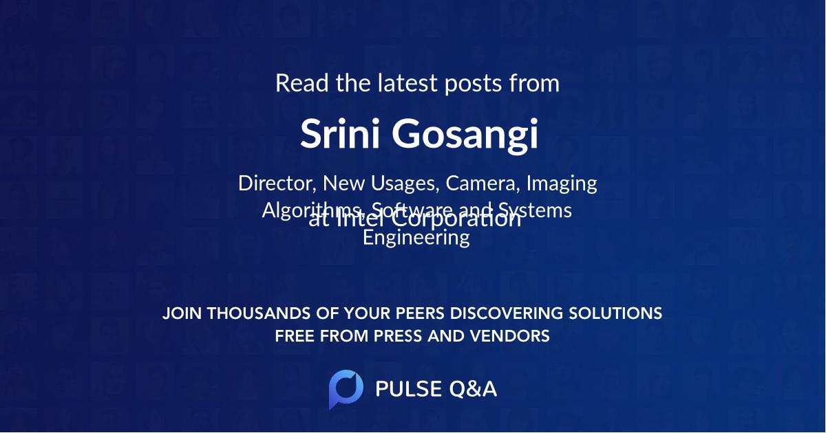 Srini Gosangi