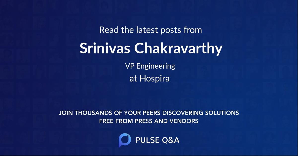Srinivas Chakravarthy