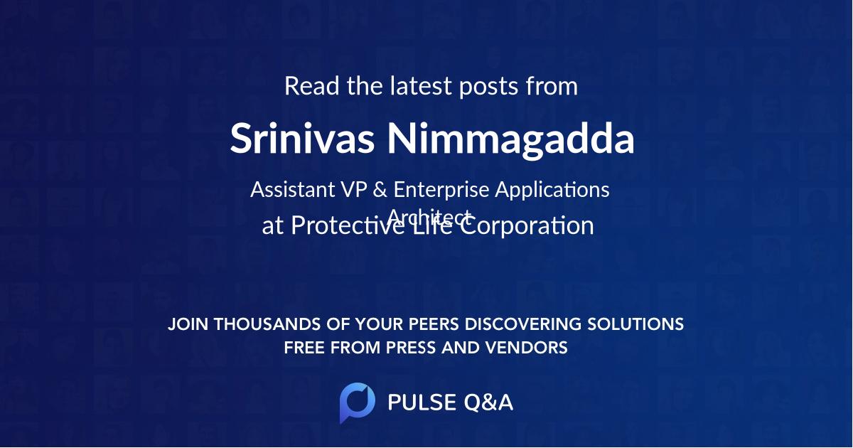 Srinivas Nimmagadda