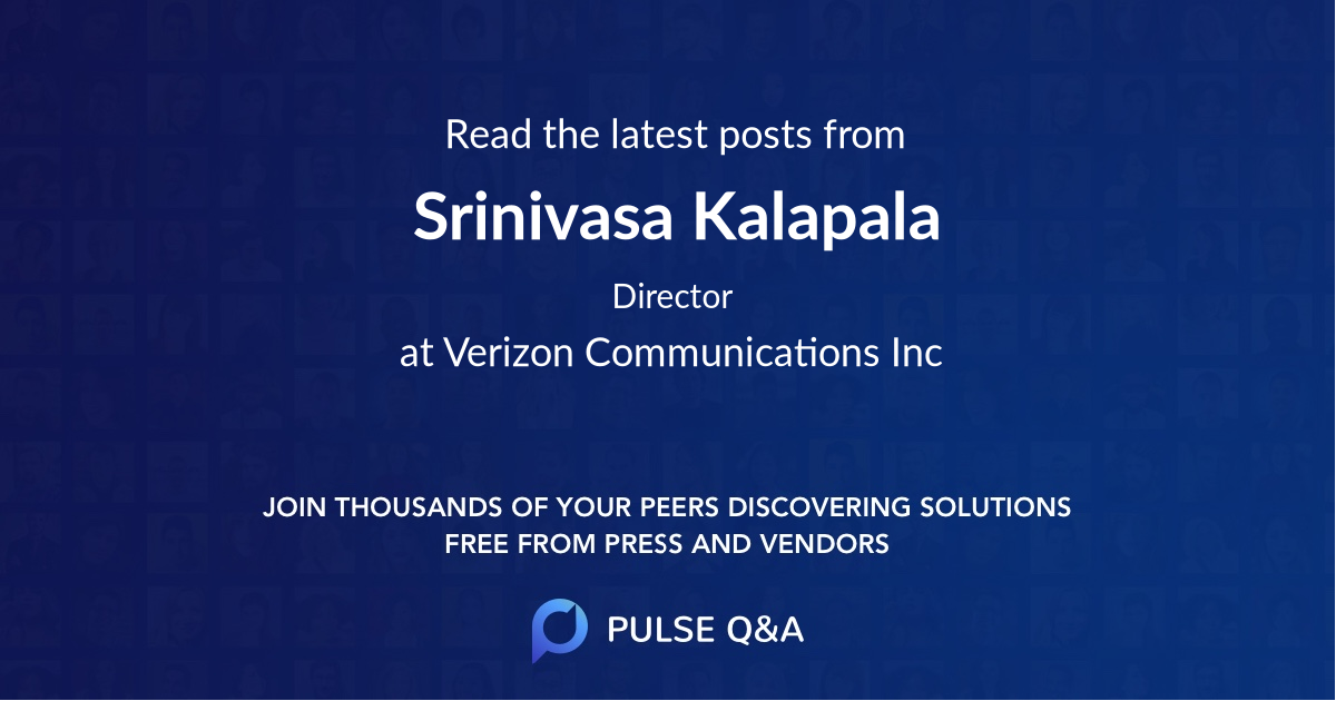 Srinivasa Kalapala