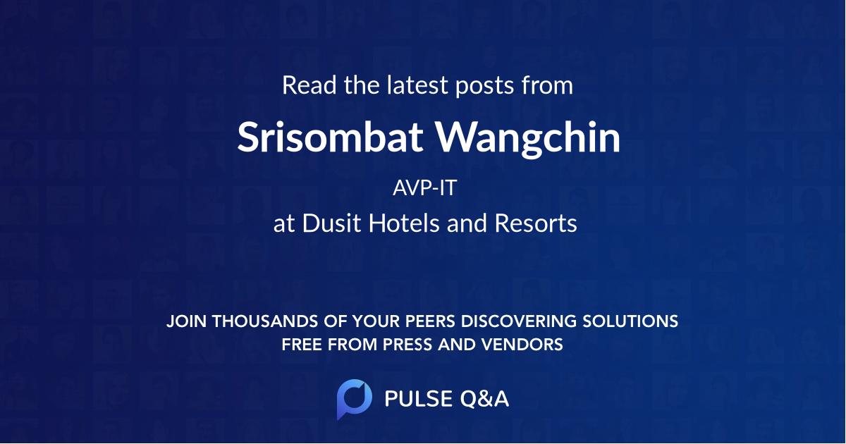 Srisombat Wangchin