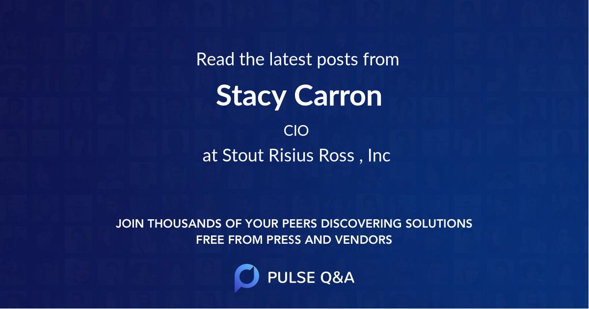 Stacy Carron