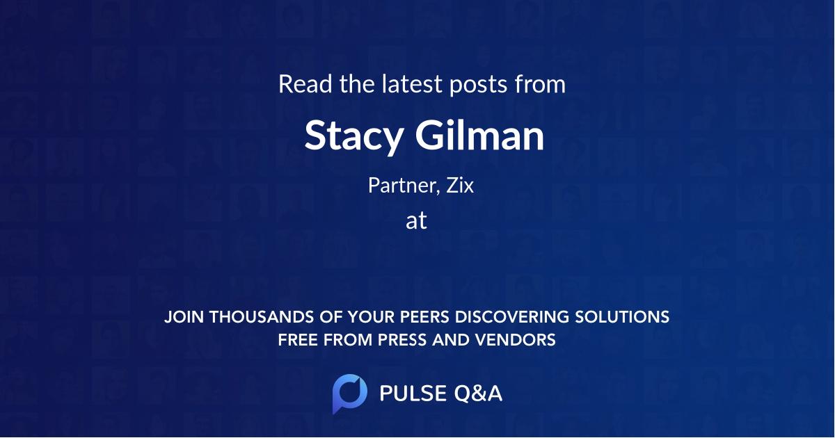 Stacy Gilman