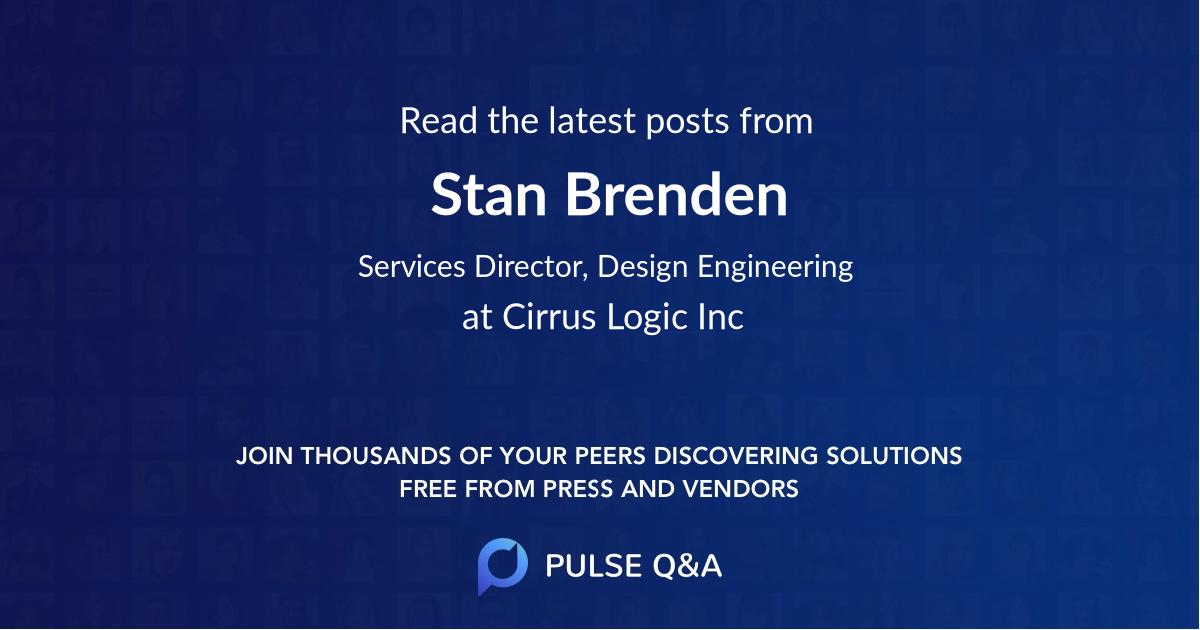 Stan Brenden