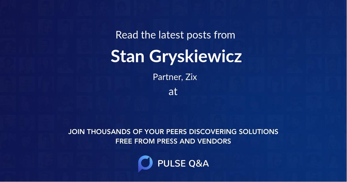 Stan Gryskiewicz