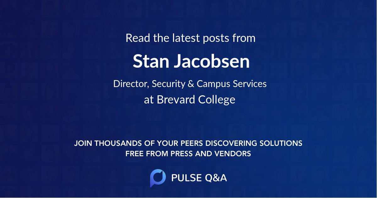 Stan Jacobsen