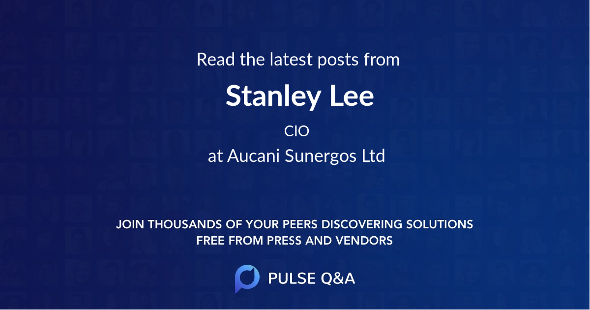 Stanley Lee
