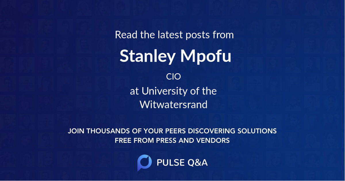 Stanley Mpofu