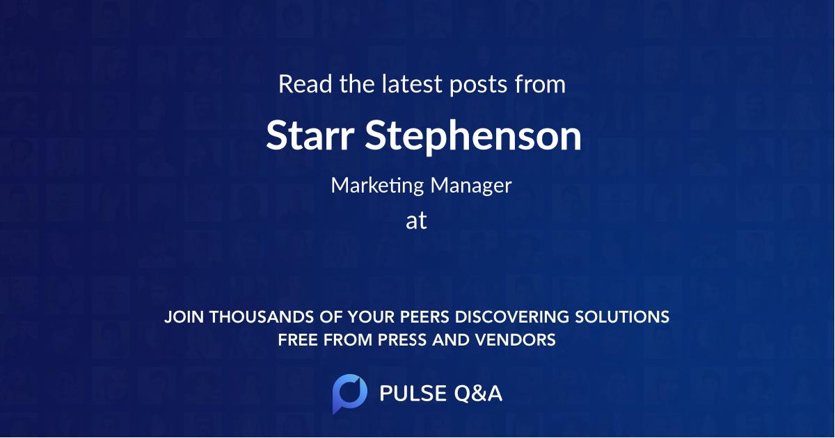 Starr Stephenson