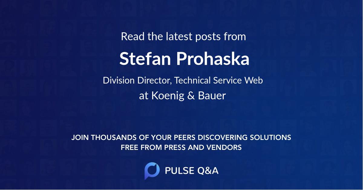Stefan Prohaska